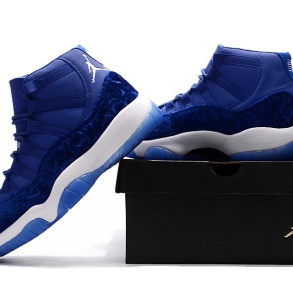 Nike Air Jordan 11 Blue Velvet Heiress